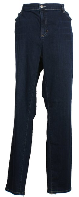 Eileen Fisher Skinny Jeans-Medium Wash Image 2
