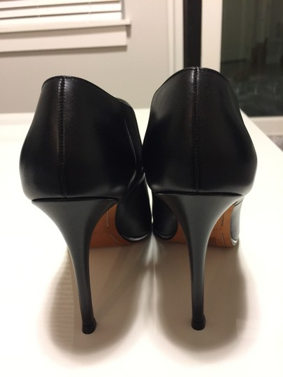 Givenchy Anklebootie Leather Heels Designer Black Boots Image 7