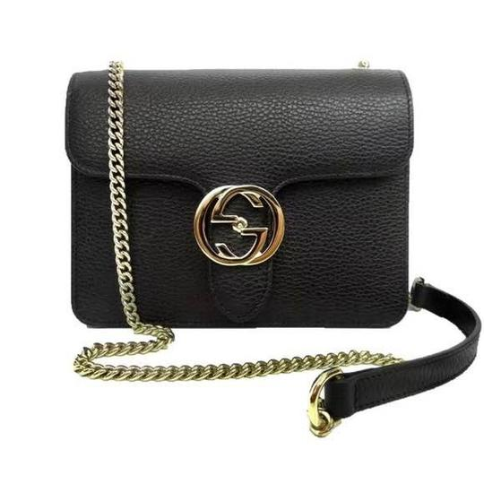 Preload https://item1.tradesy.com/images/gucci-interlocking-leather-with-chain-black-cross-body-bag-22320190-0-1.jpg?width=440&height=440