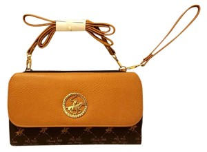 Beverly Hills Polo Club Leather Convertible Cross Body Bag
