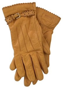 Moschino Moschino Cheap and Chic Leather Gloves