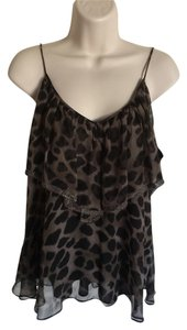 Rebecca Taylor Top Black/brown