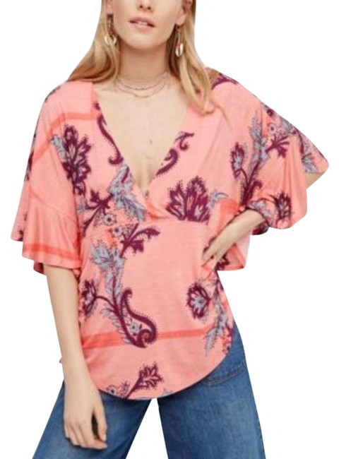 Preload https://img-static.tradesy.com/item/22321210/free-people-maui-wowie-printed-blouse-size-2-xs-0-1-650-650.jpg