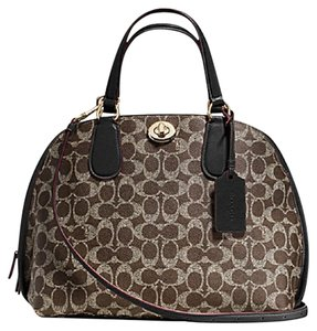 Coach Prince Street Dome 35091 Satchel in Brown