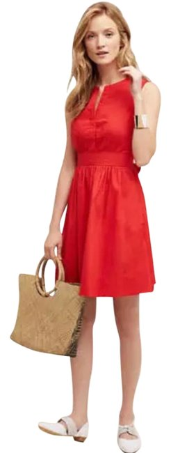 Preload https://img-static.tradesy.com/item/22321487/anthropologie-red-adrian-short-casual-dress-size-6-s-0-1-650-650.jpg
