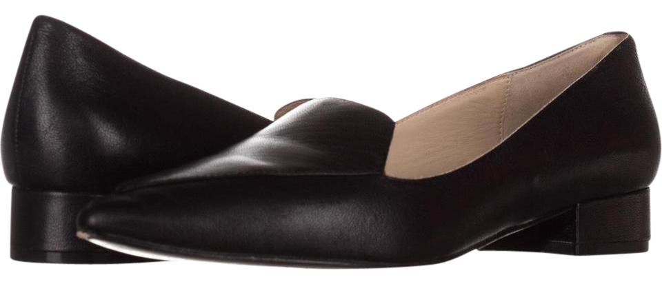 a4da2c799acb Cole Haan Black Dellora Skimmer Pointed Toe Loafers 123 Flats Size ...