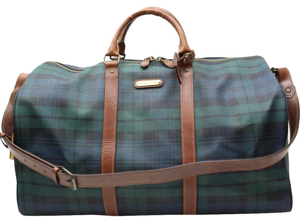 e82f4b16ee8 ... Leather  low priced 463a3 f272d Polo Ralph Lauren Duffle Keepall  Bandouliere Green Travel Bag .. ...