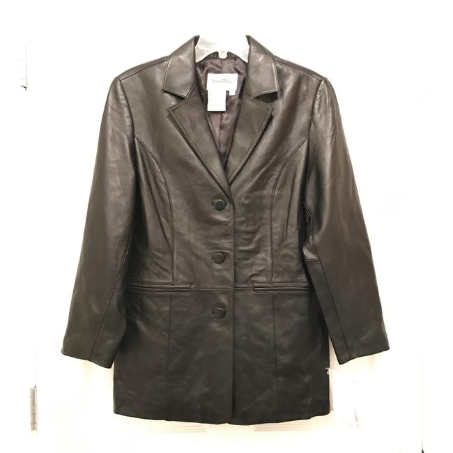 Preload https://img-static.tradesy.com/item/22322083/pamela-mccoy-black-new-leather-jacket-size-6-s-0-0-650-650.jpg