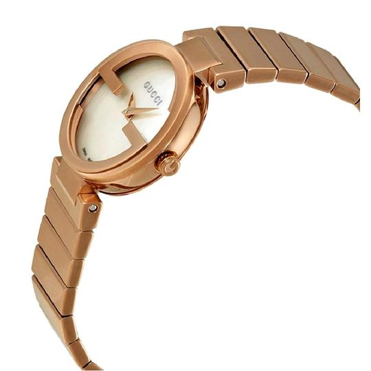 GUCCI Swiss Made Mother of Pearl Dial Ladies Bracelet Watch Image 1