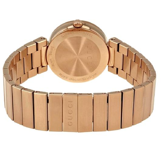 GUCCI Swiss Made Mother of Pearl Dial Ladies Bracelet Watch Image 2