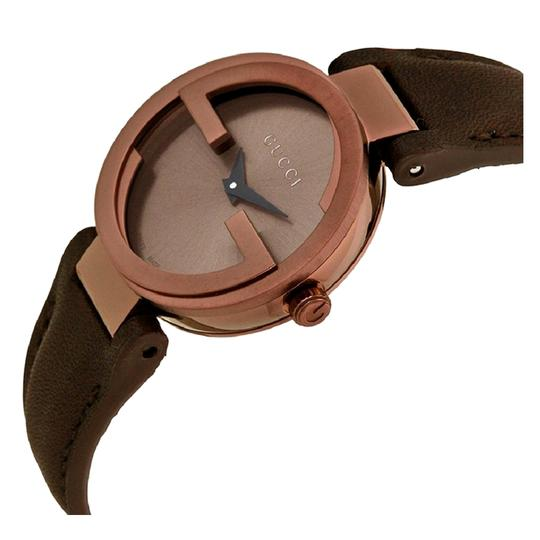 GUCCI Gucci Interlocking Swiss made Small Brown Dial Ladies Luxury Watch Image 1