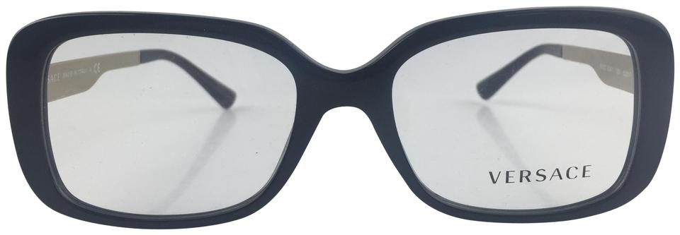 bd5589f2599 Versace Black Square Eye Medusa Head Optical Glasses - Tradesy
