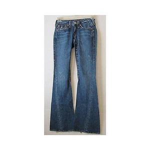 True Religion Womens Denim 25 Flare Leg Jeans