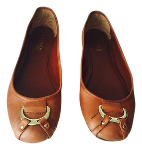 Lauren Ralph Lauren Light Brown Flats