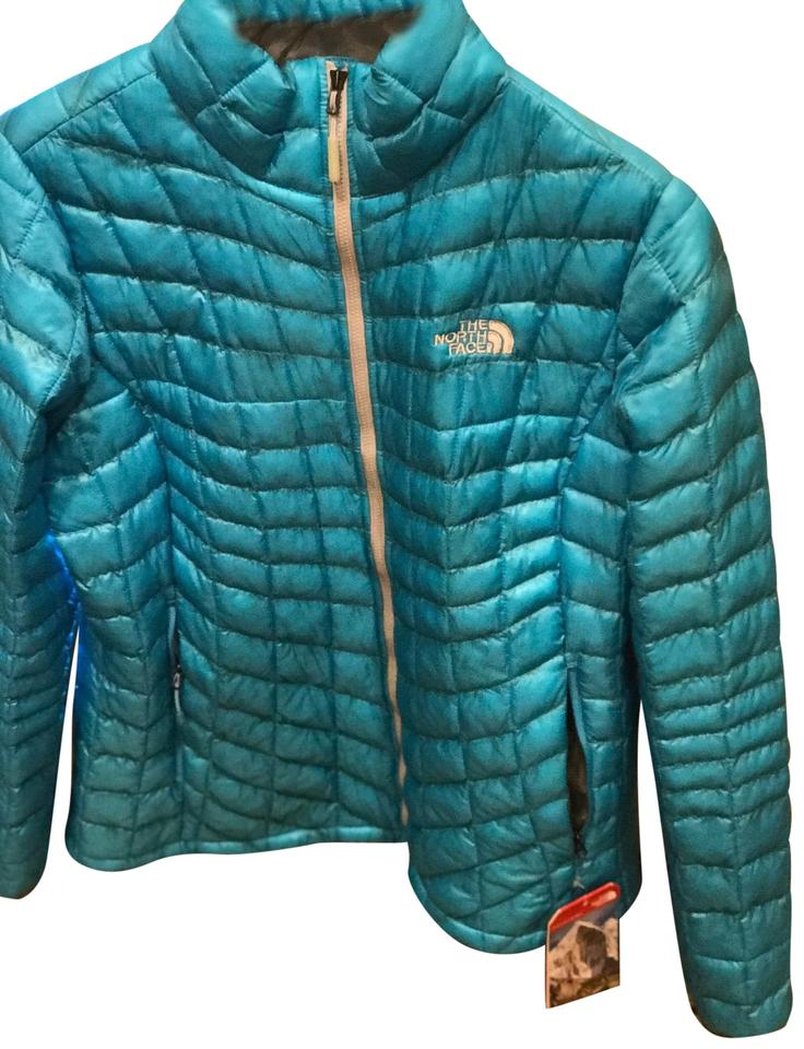 9caf0d727 The North Face Turquoise Thermoball Medium Women's Jacket Size 10 (M) 15%  off retail