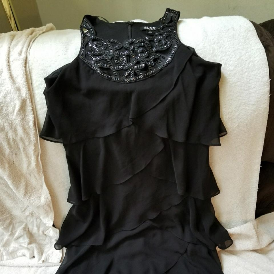 Lord & Taylor This Is A Slny Tier Mid-length Cocktail Dress Size 6 ...
