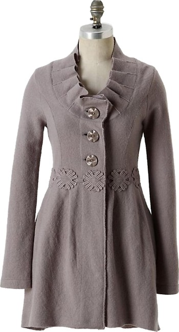 Item - Grey Alice In Autumn Sweater By Charlie & Robin Coat Size 8 (M)