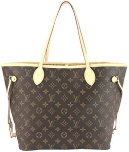 Louis Vuitton Neverfull Damier Tote in Monogram