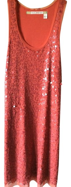 Preload https://item1.tradesy.com/images/chelsea-and-violet-orange-sequin-knee-length-night-out-dress-size-12-l-2232800-0-0.jpg?width=400&height=650