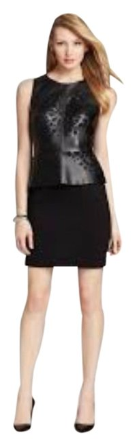 Preload https://item4.tradesy.com/images/laundry-by-shelli-segal-black-sleeveless-faux-leather-cut-out-peplum-cocktail-dress-size-4-s-2232808-0-0.jpg?width=400&height=650