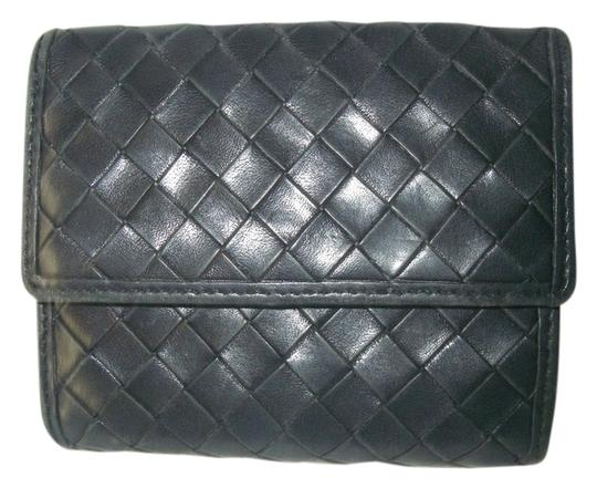 Preload https://item4.tradesy.com/images/neiman-marcus-nieman-marcus-blue-gray-leather-bifold-flap-wallet-double-snap-zipper-coin-pocket-2232823-0-0.jpg?width=440&height=440