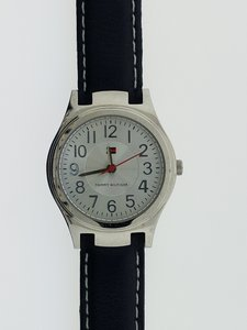 Tommy Hilfiger Tommy Hilfiger 3003 Women's Dark Blue Leather Genuine Watch
