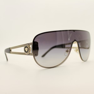 44cc1f39c07cd Versace Black Gold Gradient Shield Sunglasses mod 2166