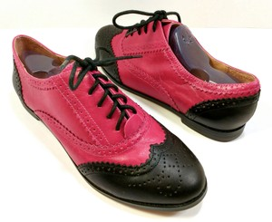 ALDO Brogues Oxford Wing Tip Leather Vintage Pink Flats