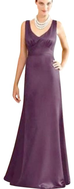 After Six Eggplant 6257 Long Night Out Dress Size 8 (M) After Six Eggplant 6257 Long Night Out Dress Size 8 (M) Image 1