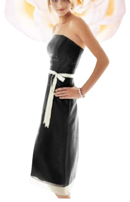 Item - Black 6238 Mid-length Night Out Dress Size 10 (M)