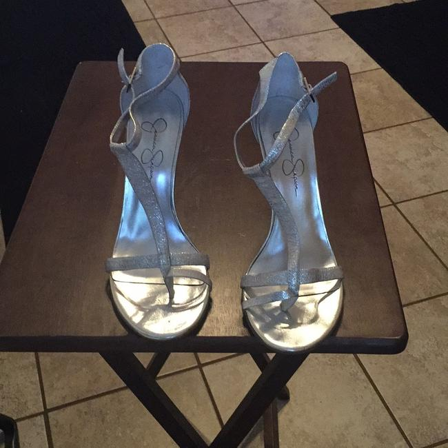 Item - Silver Unknown Formal Shoes Size US 8 Regular (M, B)