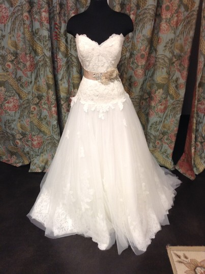 Preload https://item2.tradesy.com/images/essense-of-australia-ivory-dress-light-gold-sash-lace-and-tulle-d506dmzp-traditional-wedding-dress-s-2233016-0-0.jpg?width=440&height=440