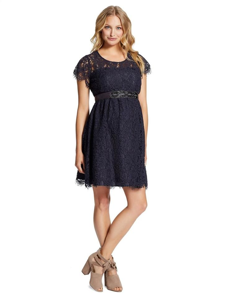 Jessica Simpson Navy Product #: 006-96863-42-s Maternity Cocktail ...