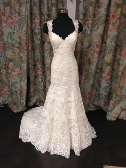 Preload https://img-static.tradesy.com/item/2233044/essense-of-australia-ivory-lace-over-oyster-lining-d1729cr-feminine-wedding-dress-size-16-xl-plus-0x-0-0-540-540.jpg