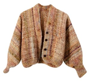 Nancy Paap Jacket Hand-woven Textile Art Cardigan