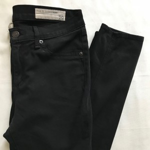 Rag & Bone & Legging Black Jegging Skinny Jeans-Dark Rinse