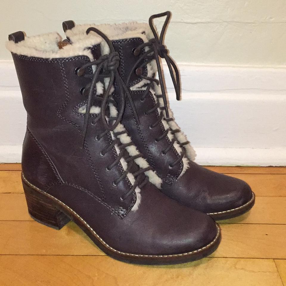 MISS Lucky Brand Brown Cambreen Characteristic Boots/Booties Characteristic Cambreen f3d7e3