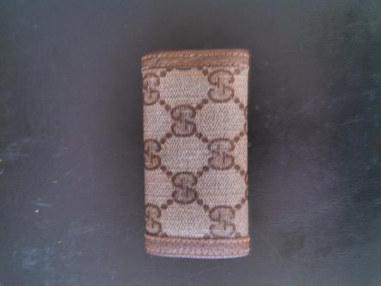 Gucci Gucci GG Key case wallet Brown Limited Edition Anniversary Collection