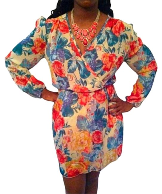 Preload https://item2.tradesy.com/images/liberty-love-coral-longsleeve-floral-print-short-casual-dress-size-8-m-2233141-0-2.jpg?width=400&height=650
