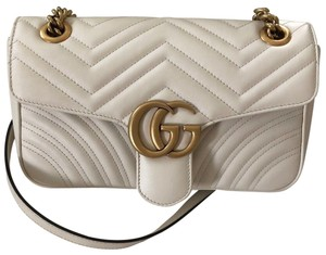 b296caae8 Gucci Marmont Super Mini Quilted Leather Cross Body Bag - Tradesy