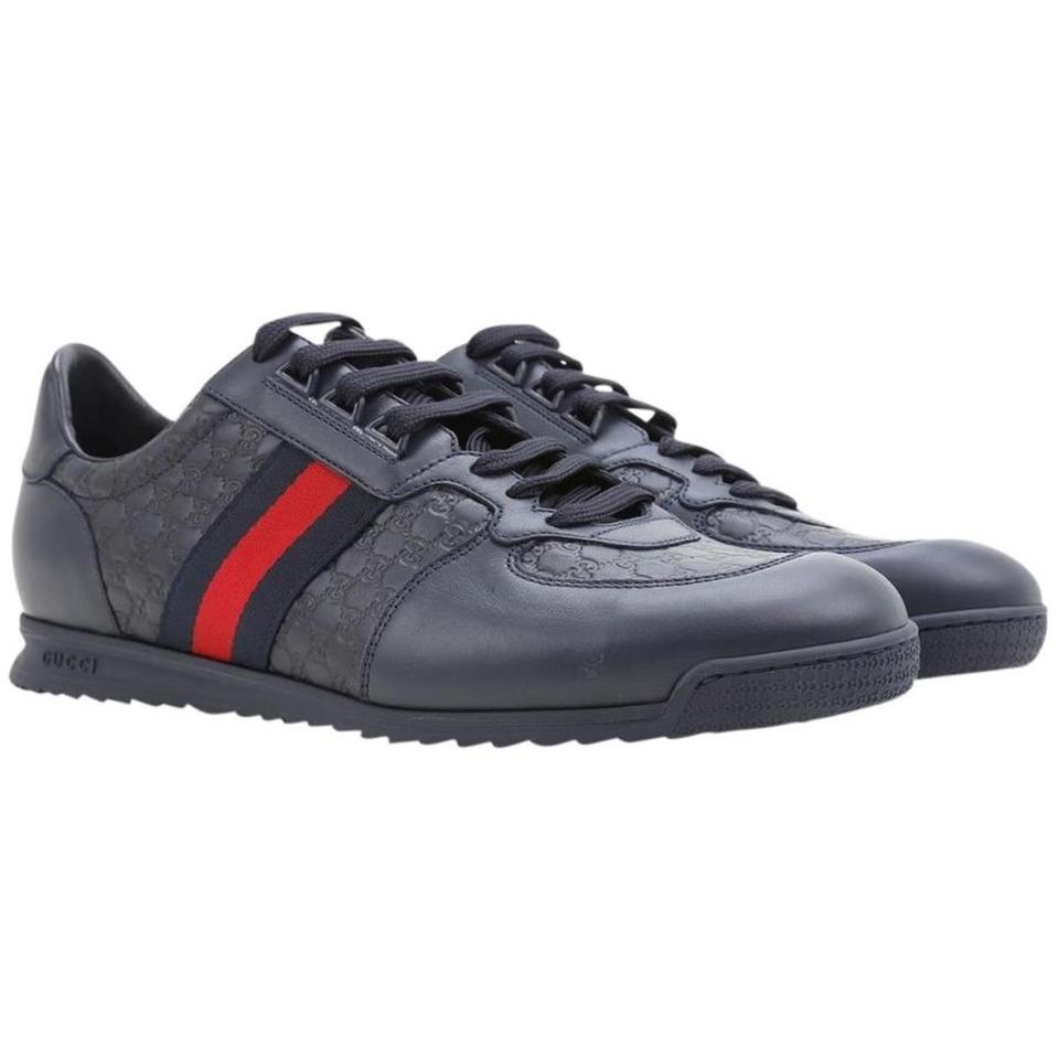 ac017a0f499 Gucci Navy Men s Sneakers Size US 8 Regular (M