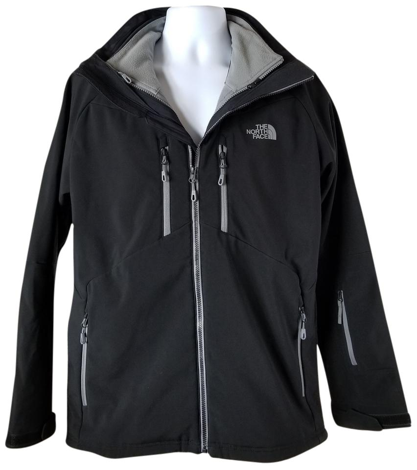 4a664597a39b ... Apex Storm Peak Triclimate 3-in-1 Jacket - Mens Fiery The North Face 3  In One Black Jacket .