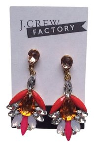 J.Crew J.Crew Factory Stunning Floral Crystal Dazzlers, New! Perfect Spring Jewelry Accessory!