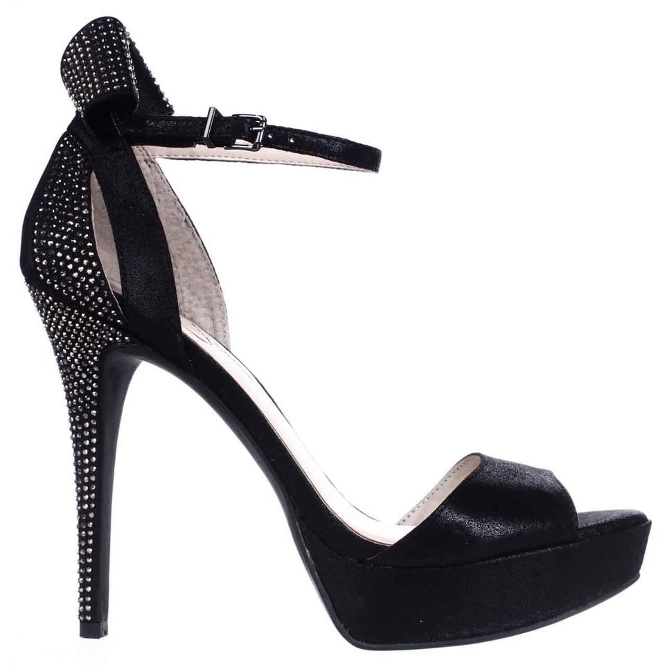 aa277dd0d09 Jessica Simpson Black Baani Sparkle Bow Heel Dress Platform - Black ...