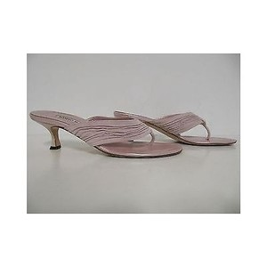 Manolo Blahnik Womens Dinet Pink Sandals