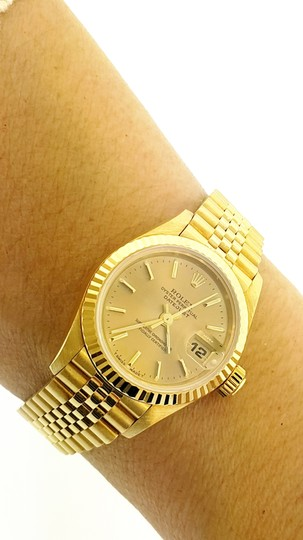Rolex Rolex Datejust President 18K Yellow Gold 26MM Automatic Watch Image 2
