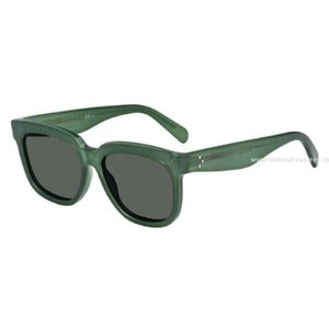 Cline NEW Celine 41057/S Radical Oversized Green Sunglasses
