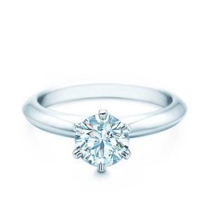 Tiffany & Co. The Tiffany Setting Engagement Ring 0.71 ct