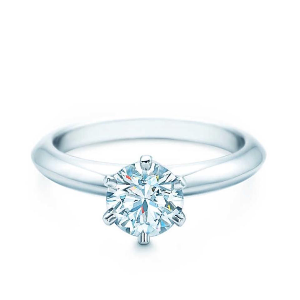 Tiffany & Co. Colorless The Setting Engagement 0.71 Ct Ring - Tradesy