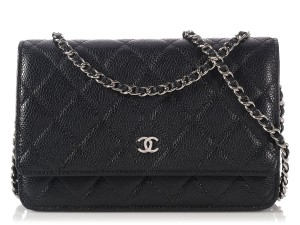 Chanel Woc Quilted Cc Silver Hardware Ch.l0803.20 Cross Body Bag